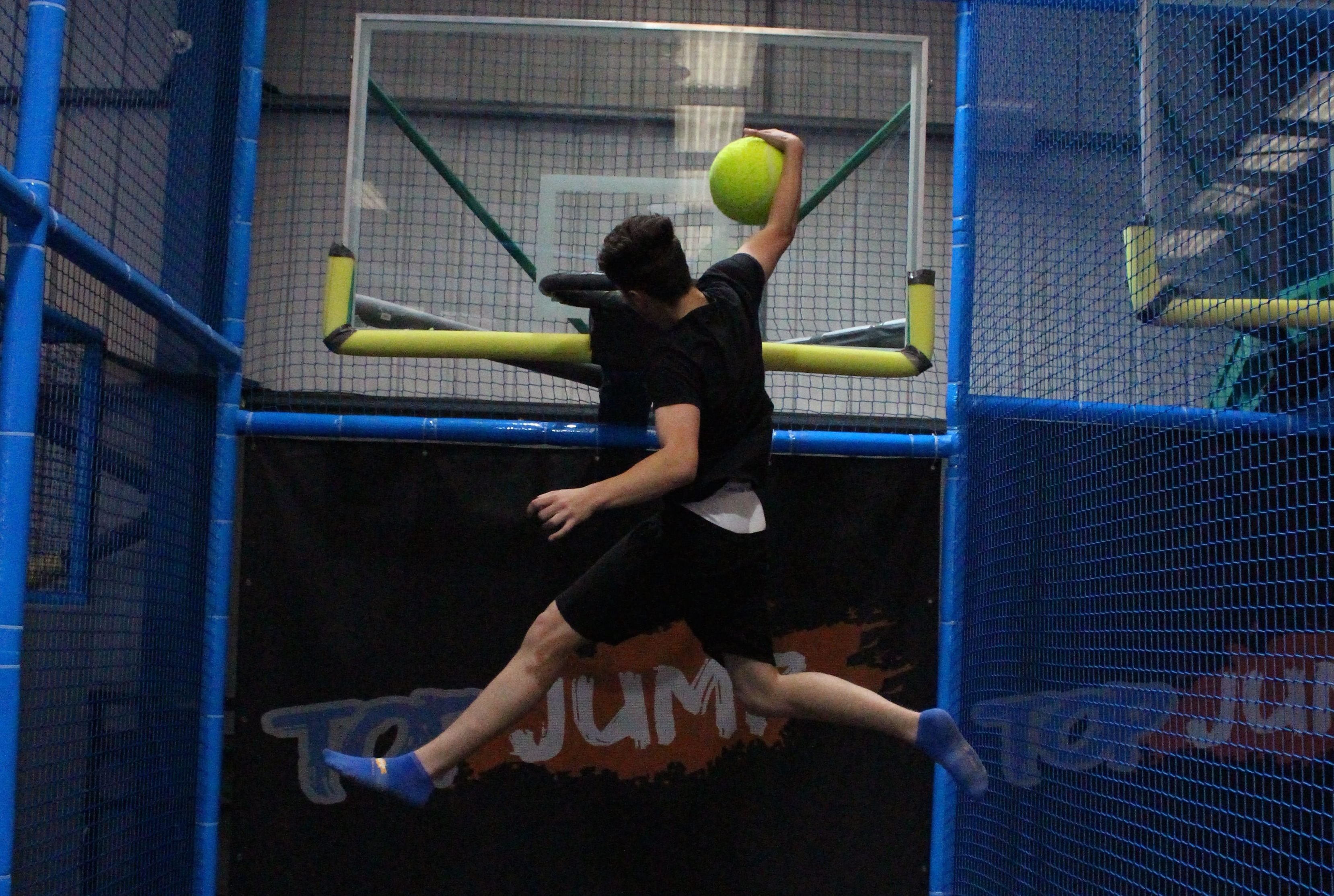 Forget Xscape and get down and defy gravity at Top Jump, Milton Keynes. Image